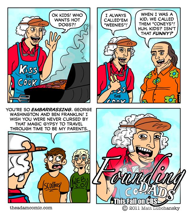 throw some tube steaks on the ol' charq slab