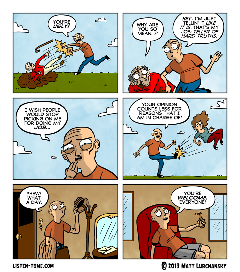 this comic is about EXACTLY what/who you think it is about